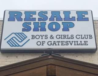 Resale Shop Benefiting the Boys & Girls Club of Gatesville