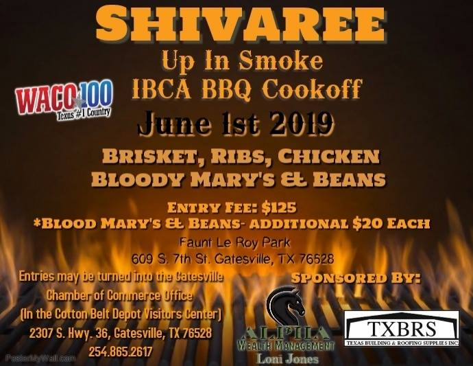 Shivaree up in Smoke BBQ Cook off